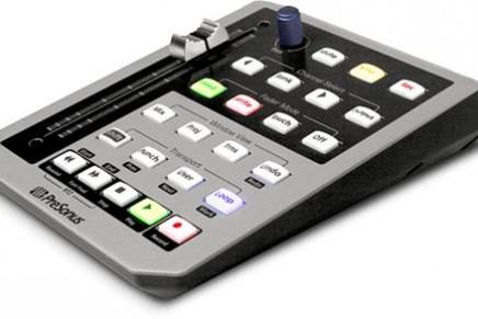 PreSonus adds Digital Performer support for FaderPort
